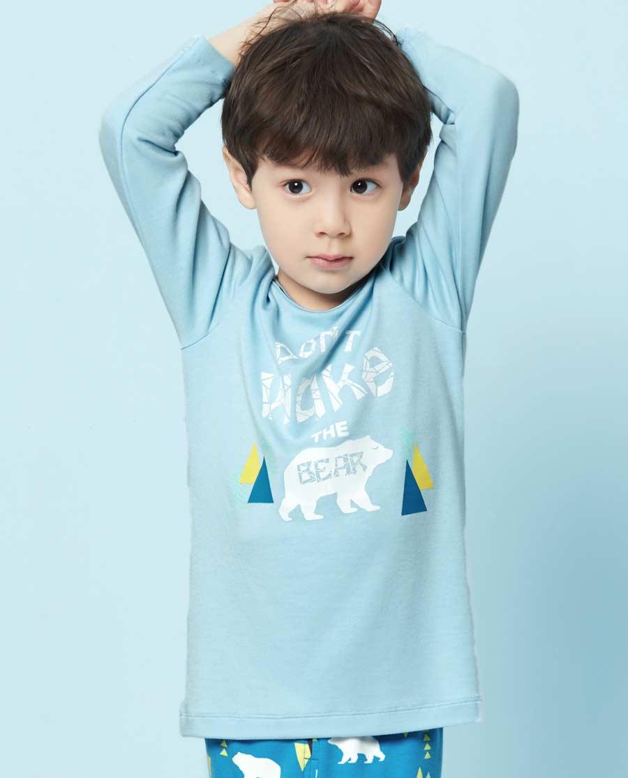 Aimer Kids睡衣|爱慕儿童森林漫步长袖家居上衣AK241S81