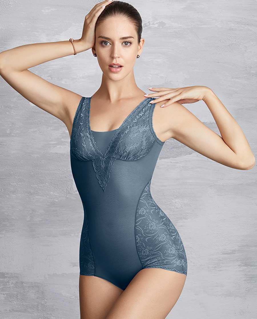 MODELAB美体|爱慕慕澜雅姿中型短款连体塑身衣AD35B51