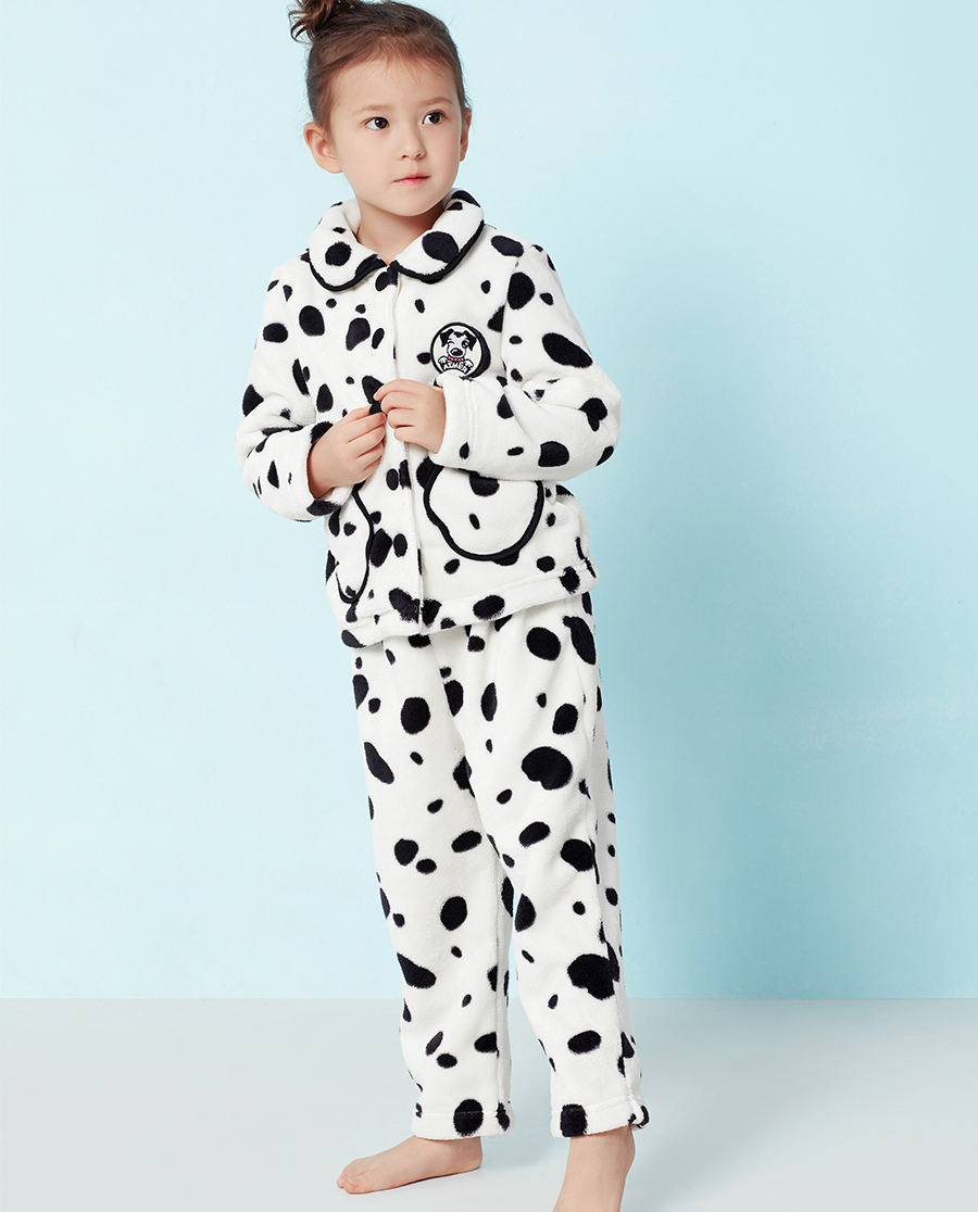 Aimer Kids睡衣|爱慕儿童斑点狗家居长裤AK342S21