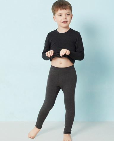 Aimer Kids保暖 爱慕儿童暖绒针织长裤AK273U11