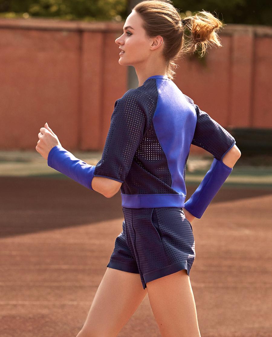 Aimer Sports运动装 爱慕运动极地速想短裤两件套AS151B21
