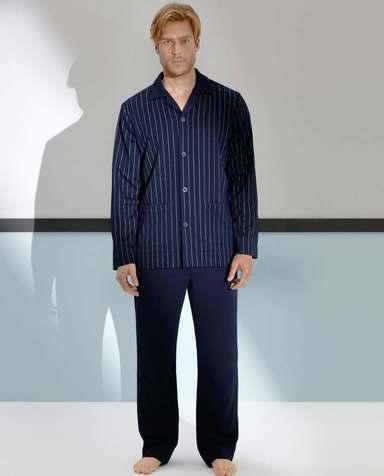 Aimer Men睡衣|爱慕先生绅士条纹家居长裤NS42A301