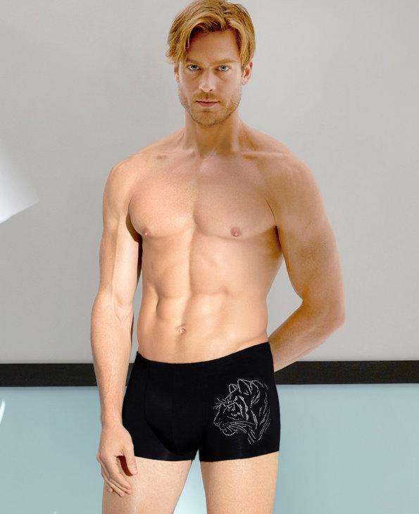 Aimer Men内裤|爱慕先生限量创意酷中腰平角内裤NS23A681