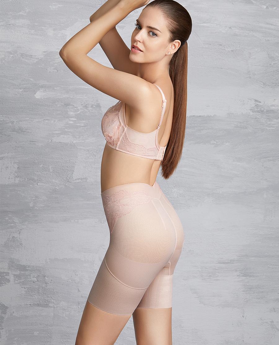 MODELAB美体|爱慕慕澜享塑中型中腰长腿塑裤AD33B42
