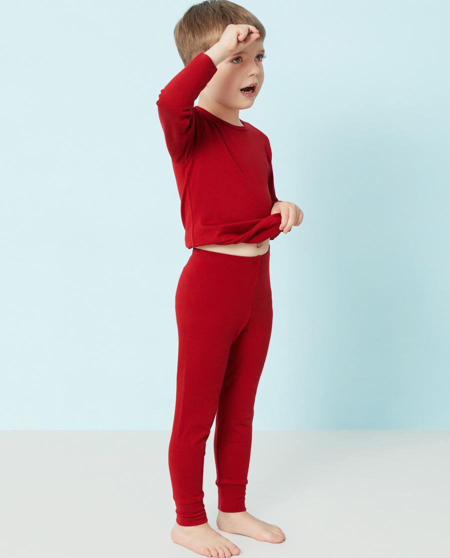 Aimer Kids保暖|爱慕儿童暖尚针织长裤AK373P11