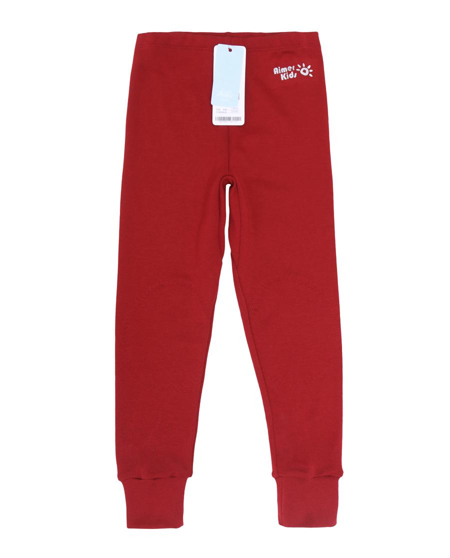 Aimer Kids保暖 爱慕儿童暖尚针织长裤AK373P11