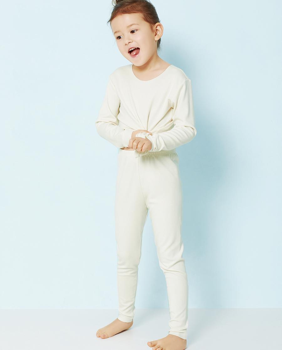 Aimer Kids保暖 爱慕儿童牛奶针织长裤AK173T51