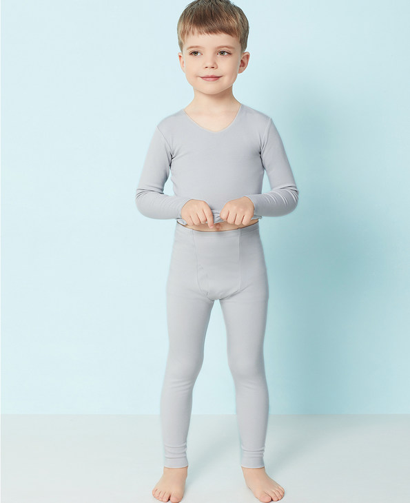 Aimer Kids保暖 爱慕儿童牛奶针织长裤AK273T51