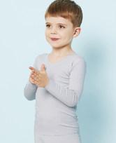 爱慕儿童牛奶长袖上衣AK272T51