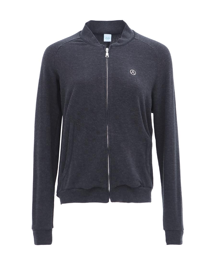Aimer Sports运动装|爱慕运动温暖物语拉链上衣AS144652