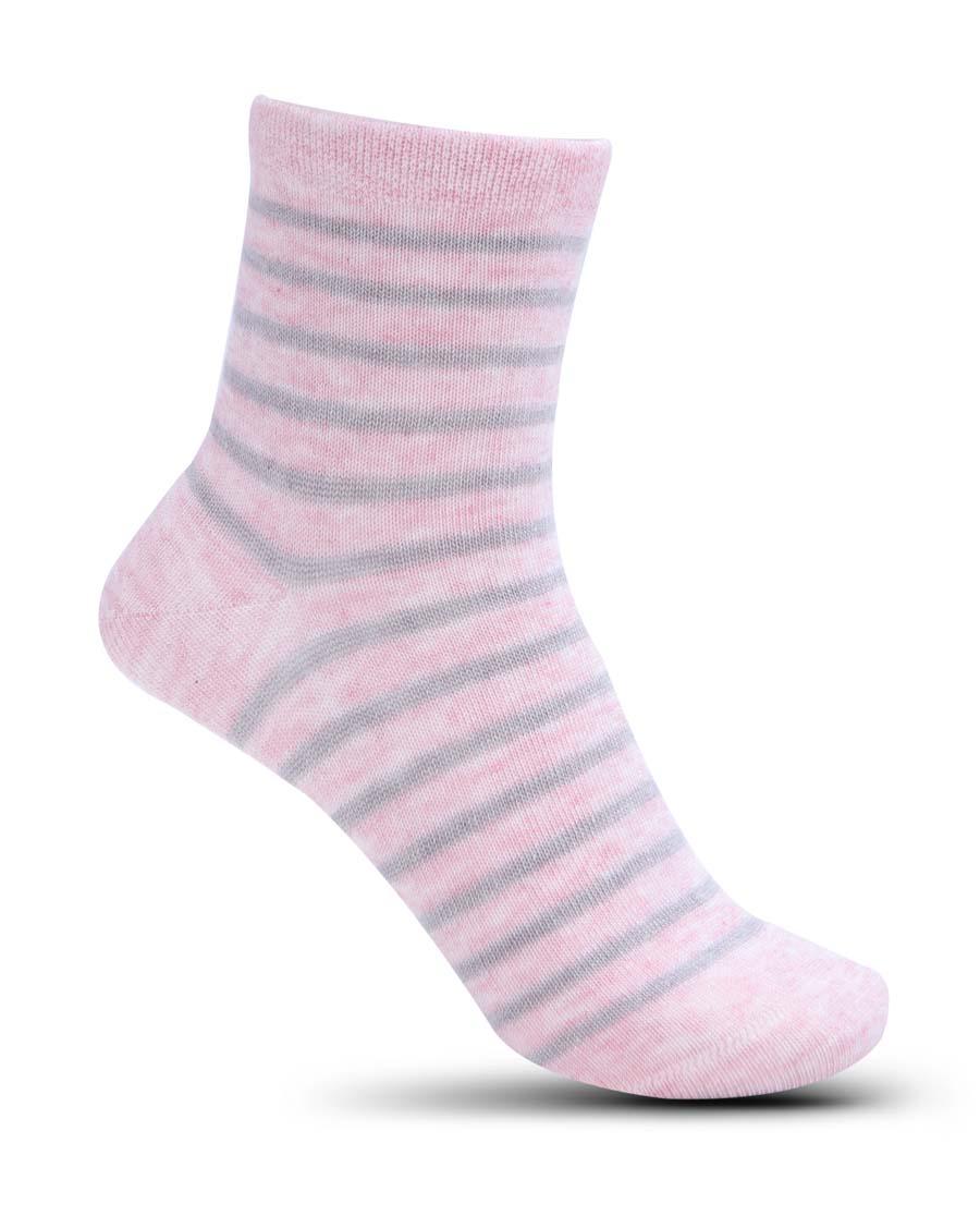 Aimer Kids配饰|爱慕儿童17AW袜子条纹短筒袜子AK19