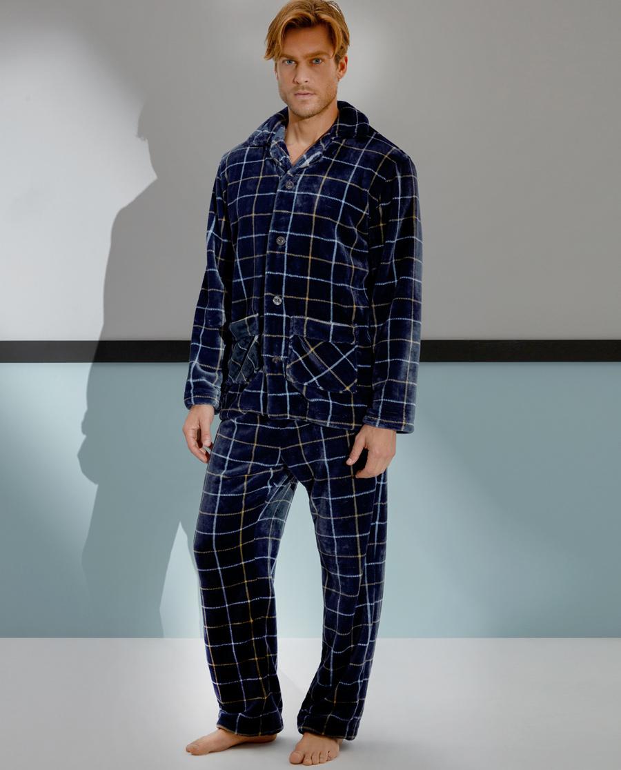 Aimer Men睡衣|爱慕先生珊瑚绒家居长裤NS42A311