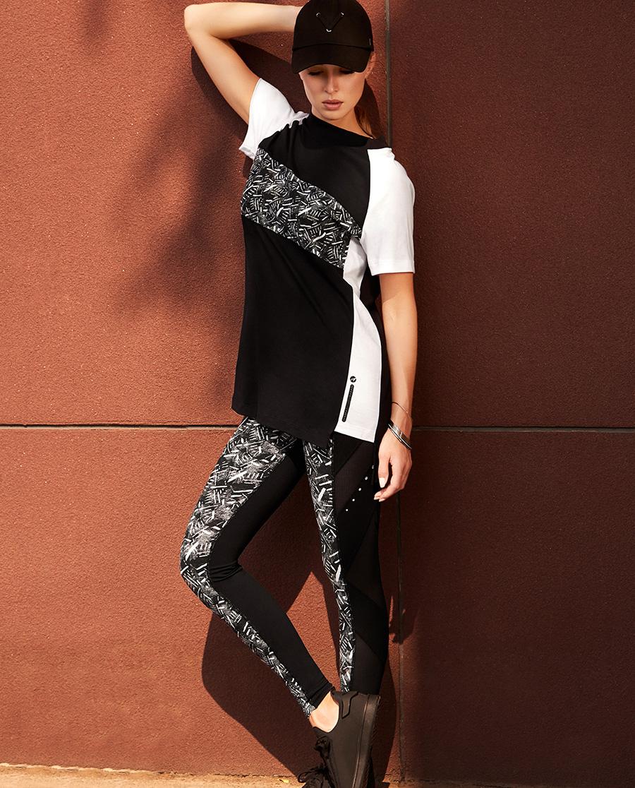Aimer Sports运动装 爱慕运动动感映象跑步长裤AS153B61