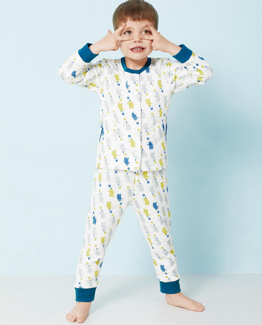 Aimer Kids睡衣|爱慕儿童轻松熊家居长裤AK242U41