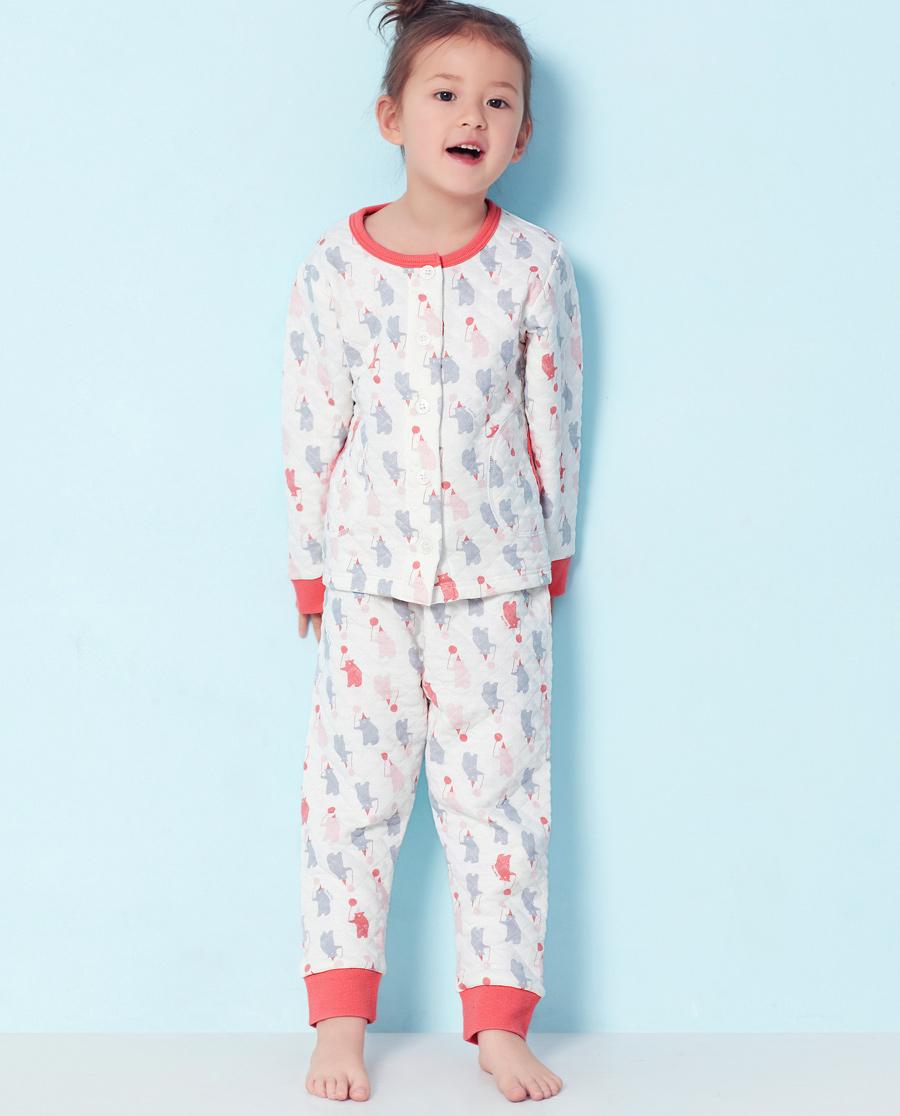 Aimer Kids睡衣|爱慕儿童轻松熊家居长裤AK142U41
