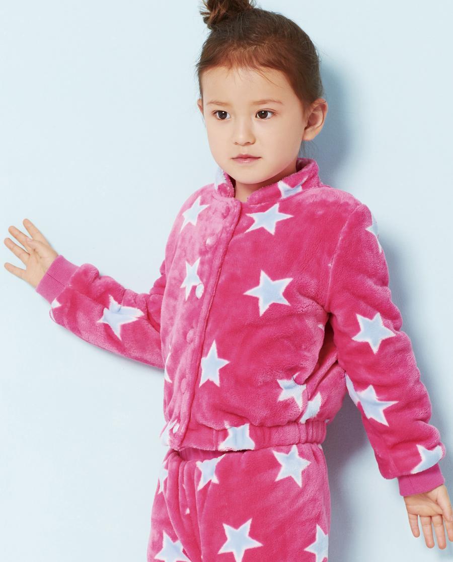 Aimer Kids睡衣 爱慕儿童爱星魔法师家居长袖上衣AK141V11