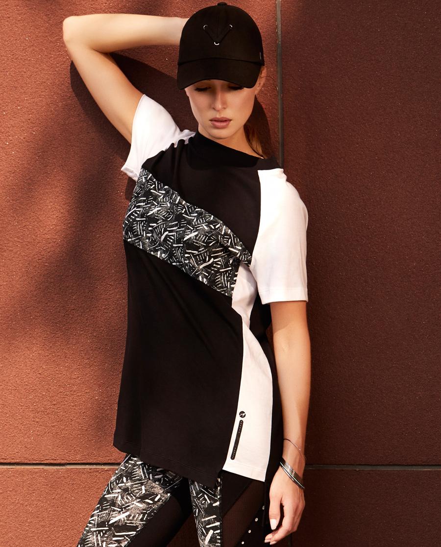 Aimer Sports运动装 爱慕运动动感映象短袖T恤AS143B61