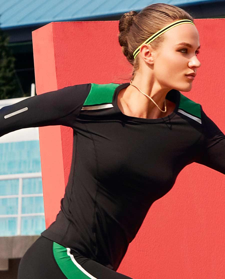 Aimer Sports运动装|爱慕运动律动套头上衣AS144B51