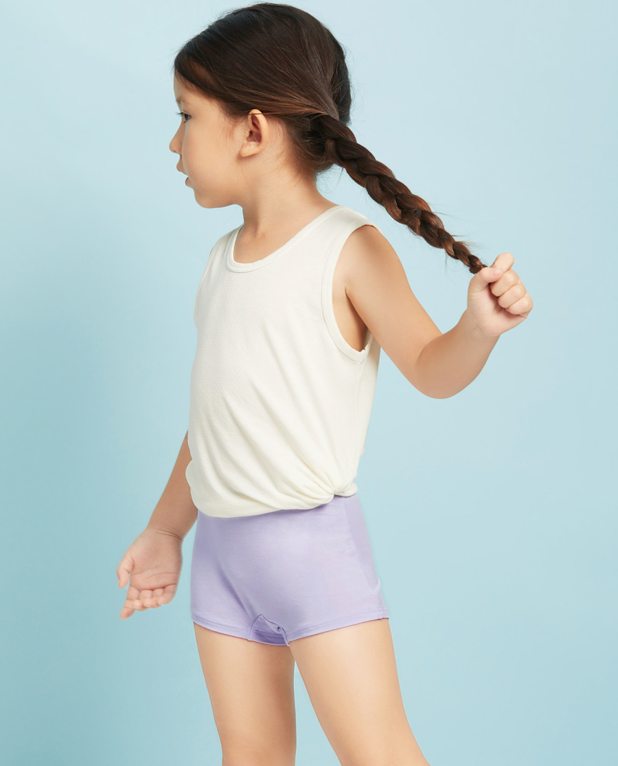 Aimer Kids内裤|爱慕儿童天使小裤MODAL中腰平角内裤AK123V21