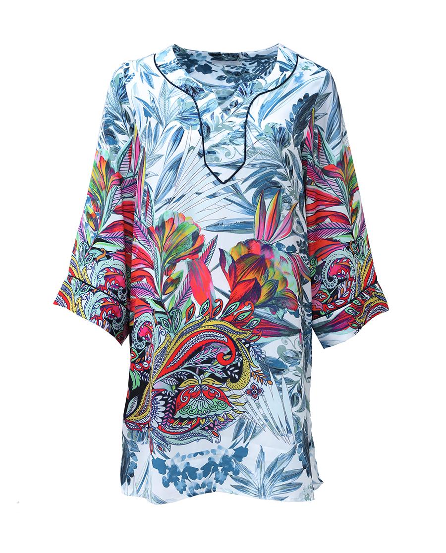 Aimer泳衣 爱慕沙漠之花中长沙滩裙AM601631
