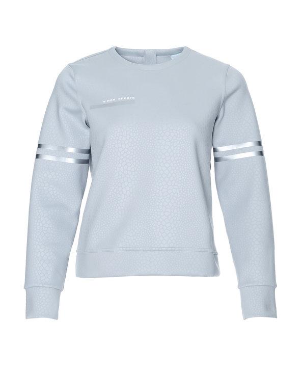 Aimer Sports睡衣 爱慕运动复古派后拉链套头上衣AS144D11