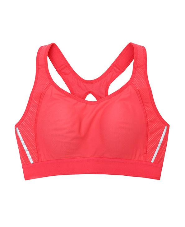 Aimer Sports文胸|爱慕运动环抱支撑高强度背心式薄模杯文胸AS116C61