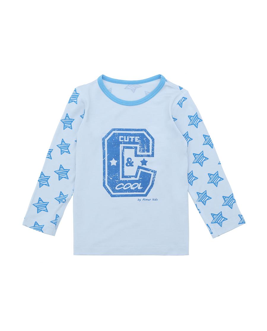 Aimer Baby睡衣|爱慕婴儿小酷星长袖家居上衣AB241491