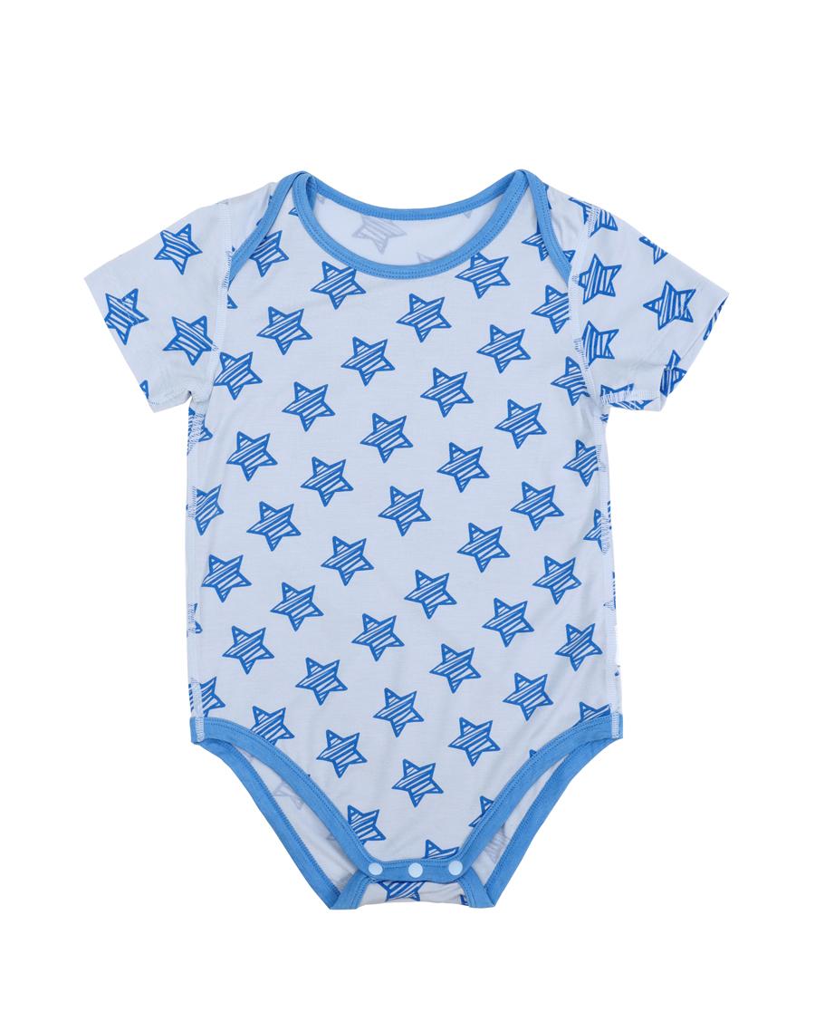 Aimer Baby保暖|爱慕婴儿小酷星短袖无腿连体爬服AB275