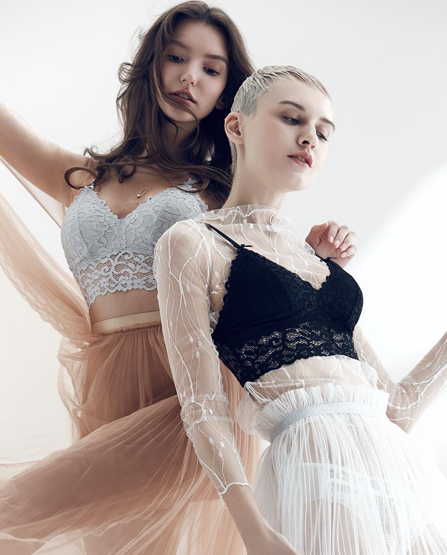 imi's文胸|爱美丽轻无托薄海绵插杯吊带背心式文胸IM17ALU5