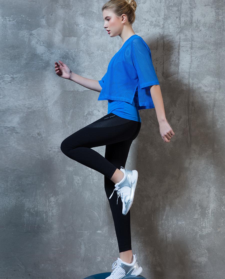 Aimer Sports运动装|ag真人平台运动环抱支撑跑步长裤AS153C61