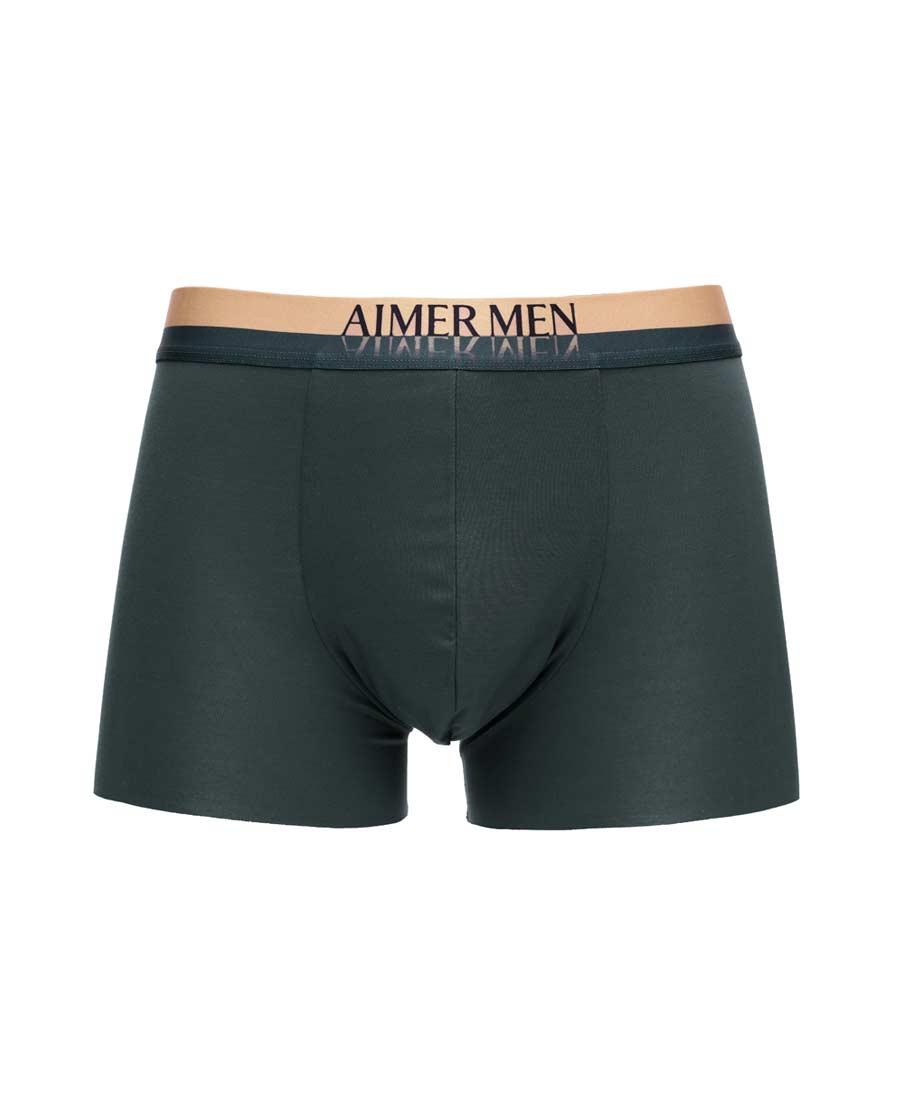 Aimer Men内裤|爱慕先生18SS纵享丝滑中腰平角内裤NS