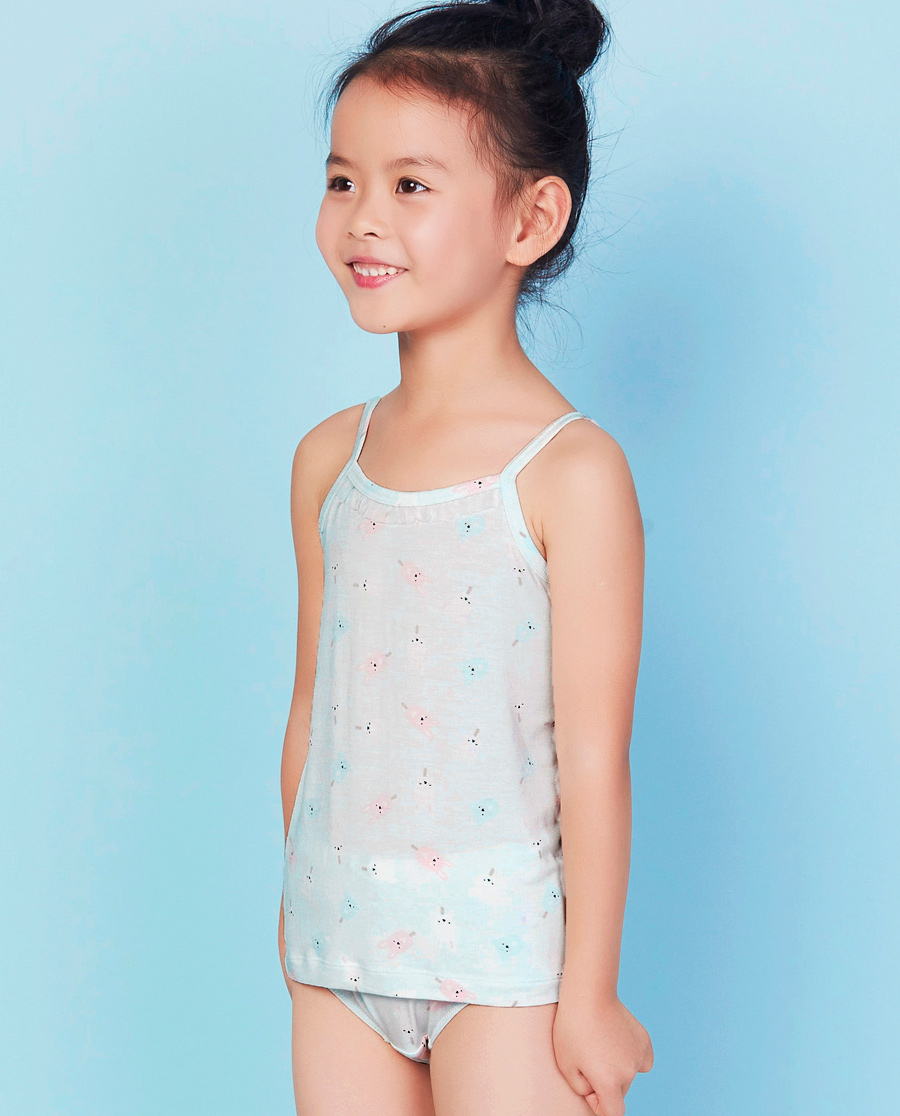 Aimer Kids睡衣|爱慕儿童甜蜜雪糕吊带背心AK111V71