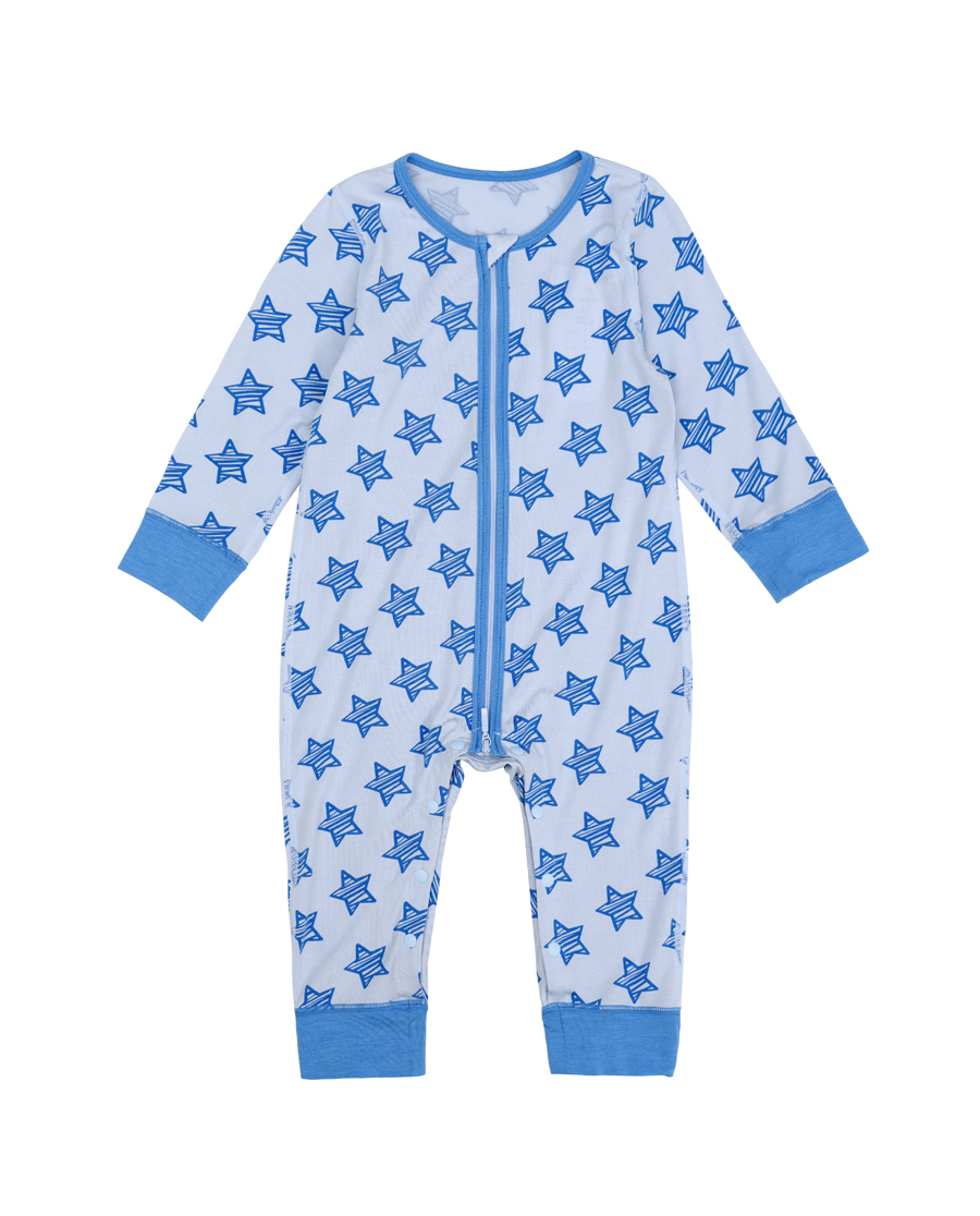 Aimer Baby保暖|爱慕婴儿小酷星长袖连体爬服AB27549