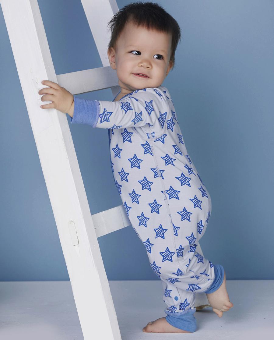 Aimer Baby保暖|爱慕婴儿小酷星长袖连体爬服AB275491