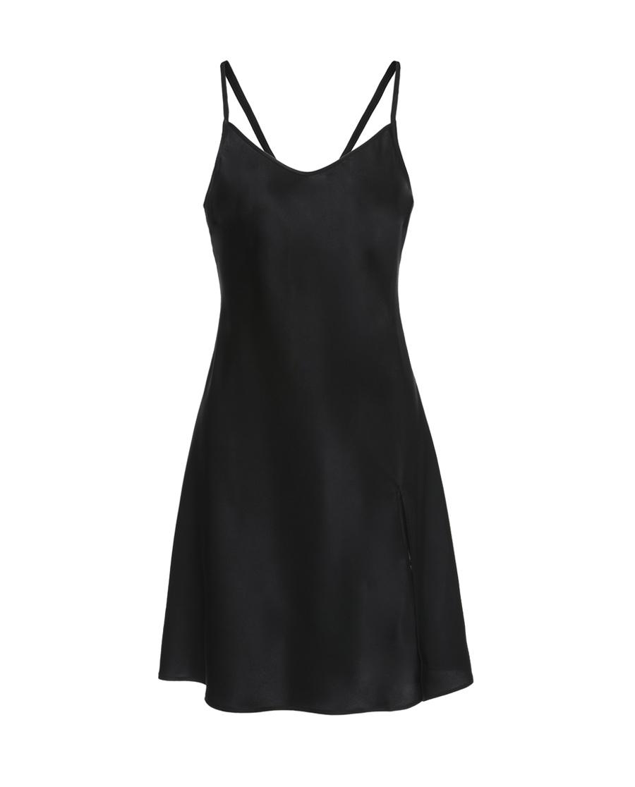 La Clover睡衣|LA CLOVER梅格庄园中款家居吊裙LC42DK1