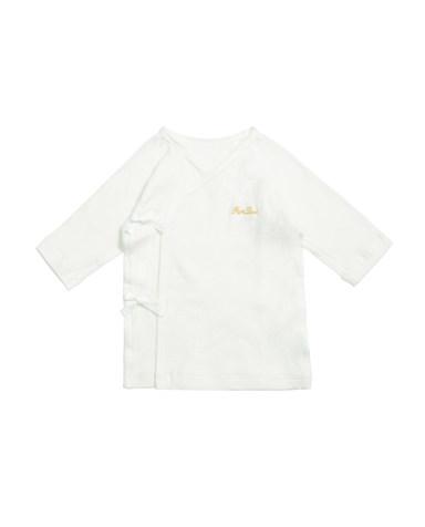 Aimer Baby保暖|爱慕婴儿乐棉宝宝系绳长袖上衣AB372481