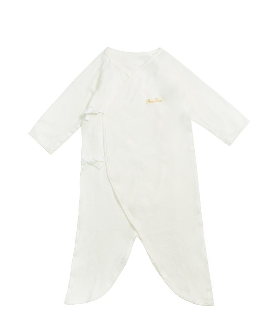 Aimer Baby保暖|爱慕婴儿乐棉宝宝系带连体长袖爬服AB375481