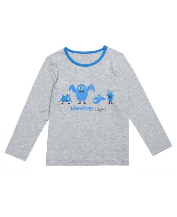 Aimer Kids睡衣|爱慕儿童怪兽联盟长袖上衣AK241V71