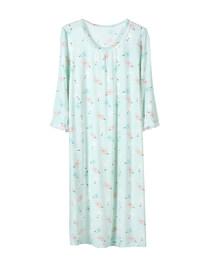 爱慕少女甜蜜雪糕七分袖中款睡裙AJ144V71