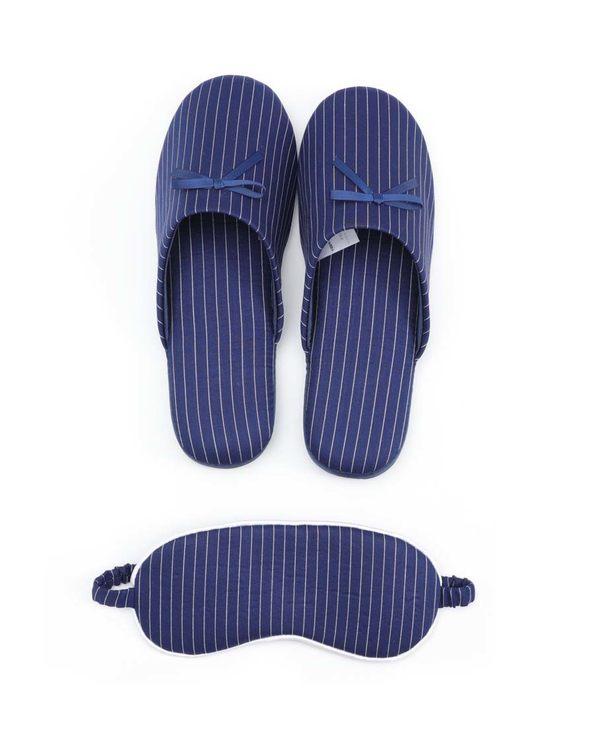 Aimer Home配饰|爱慕家品18SS轻旅行拖鞋眼罩套装AH090141