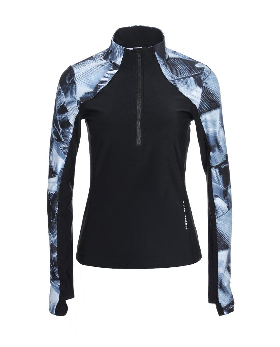 Aimer Sports运动装|爱慕运动零度立领套头上衣AS144C71