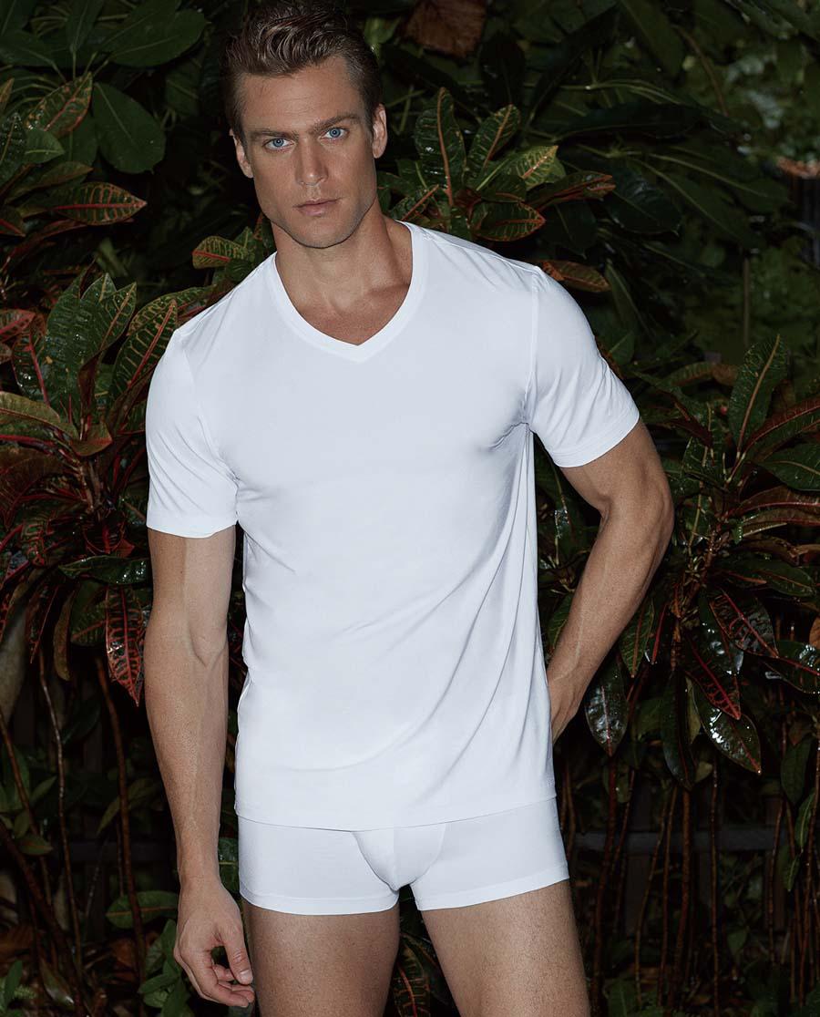 Aimer Men内裤 ag真人平台先生莫代尔中腰平角内裤NS23A831
