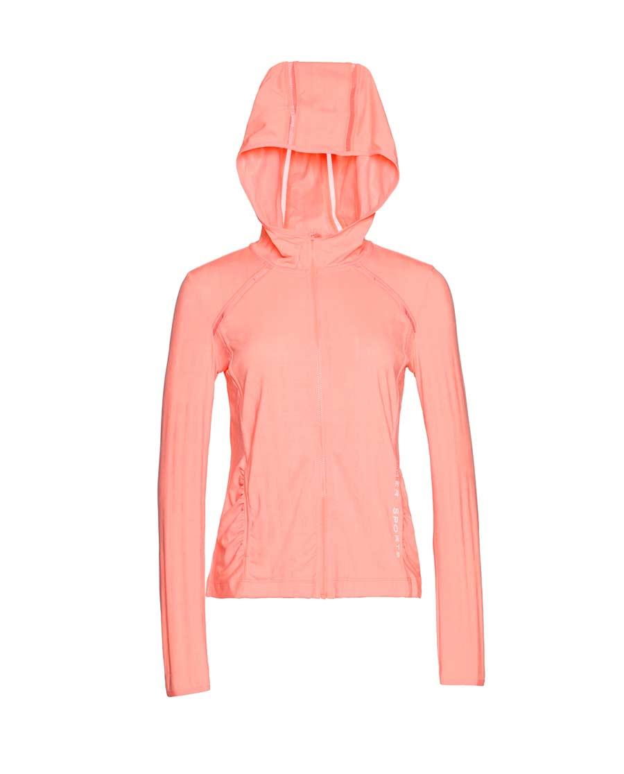 Aimer Sports运动装|爱慕运动ALL IN带帽拉链薄外套AS1
