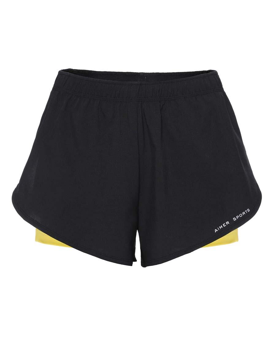 Aimer Sports运动装|爱慕运动ALL IN跑步短裤AS151C