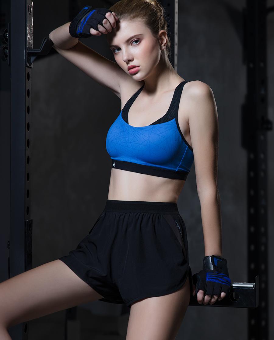 Aimer Sports运动装|ag真人平台运动畅跑跑步短裤AS151D31