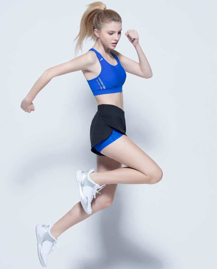 Aimer Sports运动装|ag真人平台运动ALL IN跑步短裤AS151C91