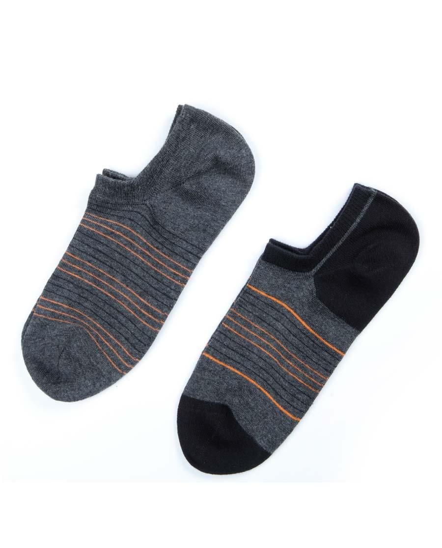 UM25袜子|UM25惬意条纹浅口船袜两件包UM940