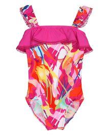 爱慕儿童奇幻花境连体泳衣AK167X52