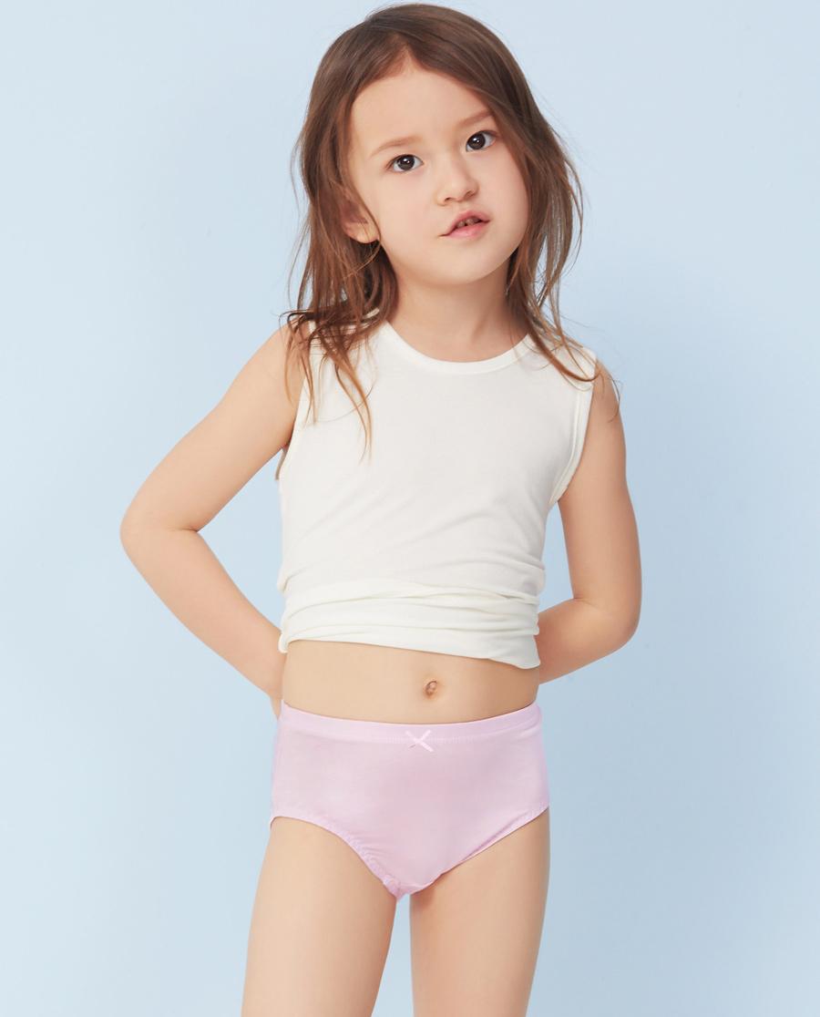 Aimer Kids内裤|ag真人平台儿童天使小裤中腰三角裤AK122M82