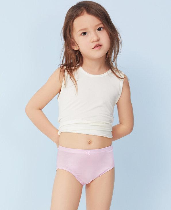 Aimer Kids内裤|【2件7.5折/5件6折】爱慕儿童天使小裤中腰三角裤AK122M82